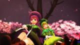 【東方ニコ楽祭・花見】葉っぱと花とおっちゃんと