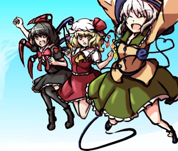 EX三人娘できららジャンプ!