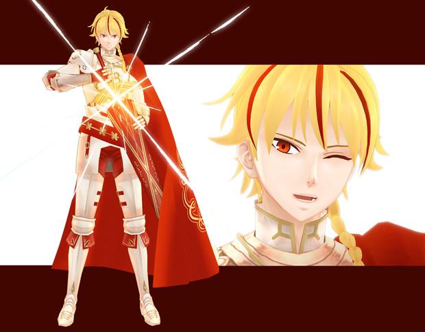 【Fate/MMD】リチャード(Fake)【配布】