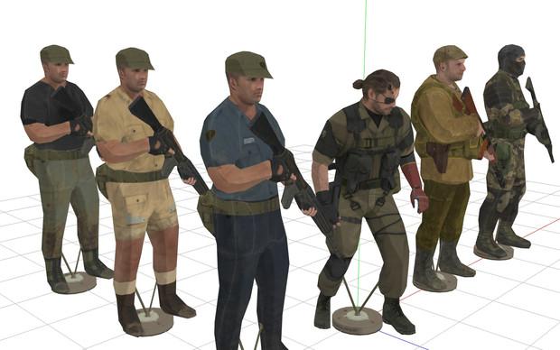 Decoy Soldiers