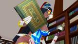 【Fate/MMD】図書館で本を探すシェヘラザードさん