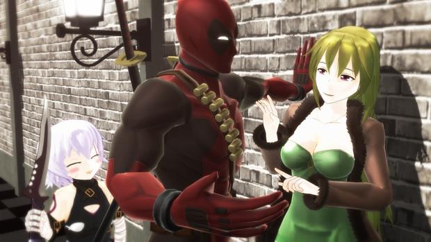 【Fate/MMD】壁ドンからの【アメコミMMD】