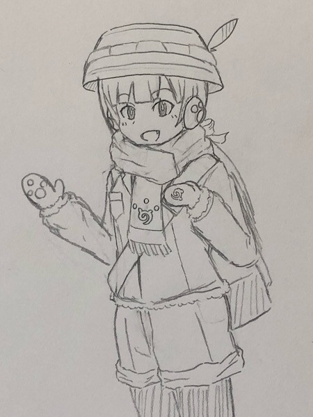 ともえちゃん(防寒仕様)