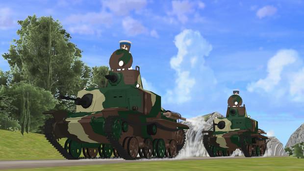 鋼鉄の騎兵隊