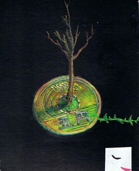 木のなる金
