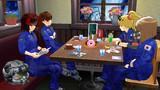 スターラスターガール 宇宙基地喫茶店での日常