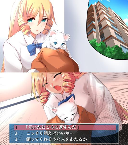◆16 仔猫を拾いましたわ