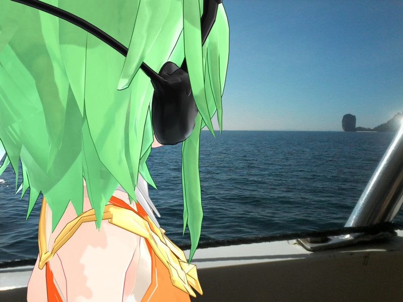 Kemika Gumi Goes To Island Throughout Boat 0082