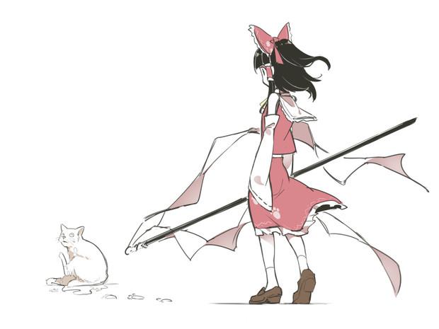 猫「あっ!」