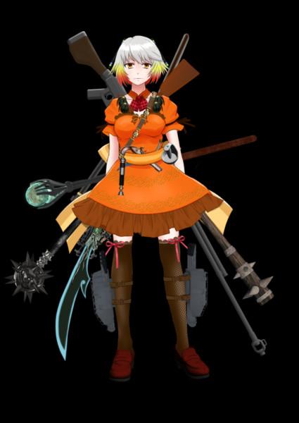 帝国撫子型アンドロイドHachi(フル装備)