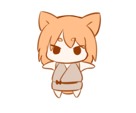 40位 狐音頭【GIF】
