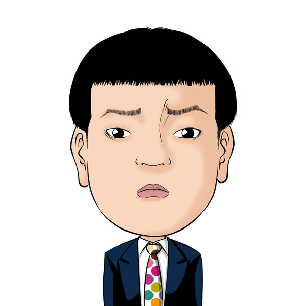 【いざお絵No.006】いざ!フットボールアワー岩尾さんの似顔絵。お笑い好上委員会。