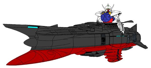合体戦艦∀ヤマト