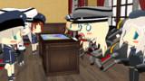 ドイツ艦娘だけを作戦指令室に残し怒りをぶちまけるビスマルク