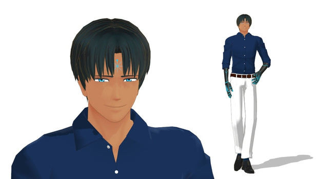【MMD】SCP-073 Cain