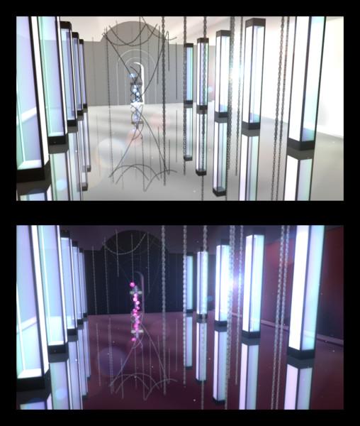 【MMD-OMF9】鎖と十字架【ステージ配布】
