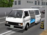 【MMD】ハイエースっぽい車Ver,1.00【俺得モデルフェス9】【モデル配布あり】