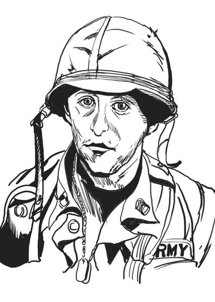 ベトナム戦争の一般通過GI