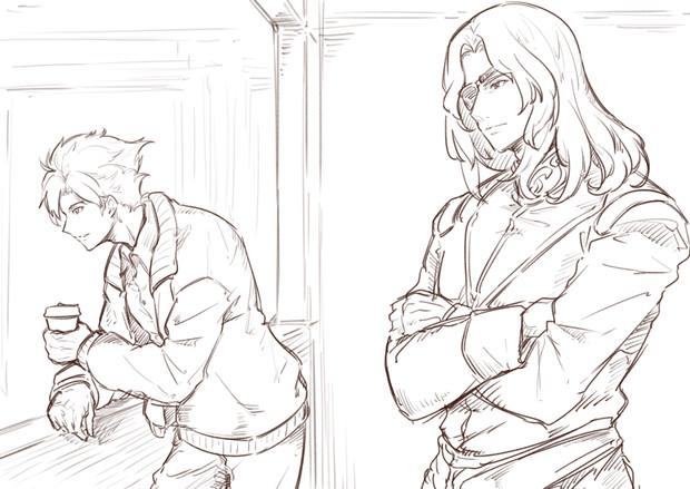 ザビーネ&キンケドゥ