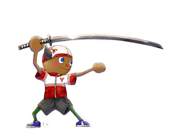 「かっこいい日本刀タイプの武器を想像していたんだけどお…」