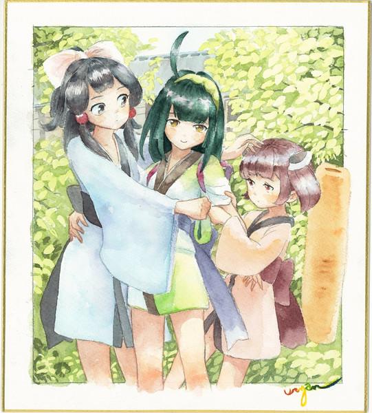 幼少期の東北三姉妹