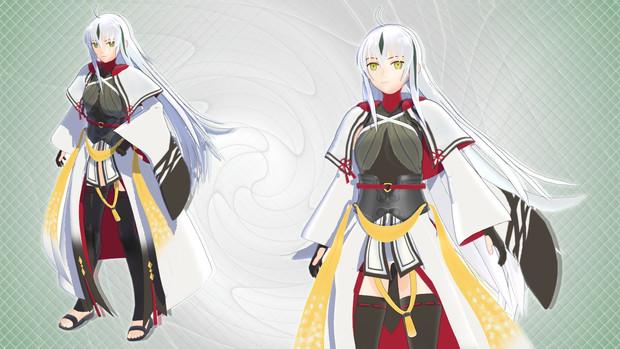 【MMD】長尾景虎 〔八華のランサー〕【モデル配布】