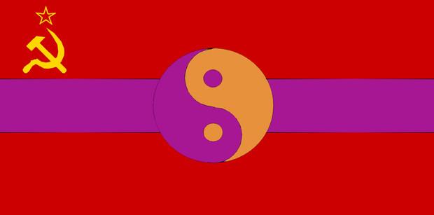 幻想郷・ソビエト社会主義共和国 国旗