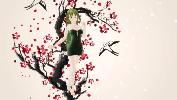 【Fate/MMD】浮世絵風玲霞さん