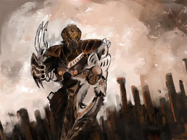 どうも盾持ちさん Kitune さんのイラスト ニコニコ静画