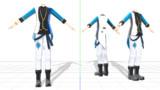 インテリ属性衣装キャストVer.着せ替え用モデル