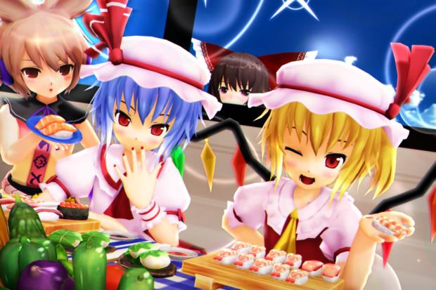【レミフラ!】お寿司をたべよう!