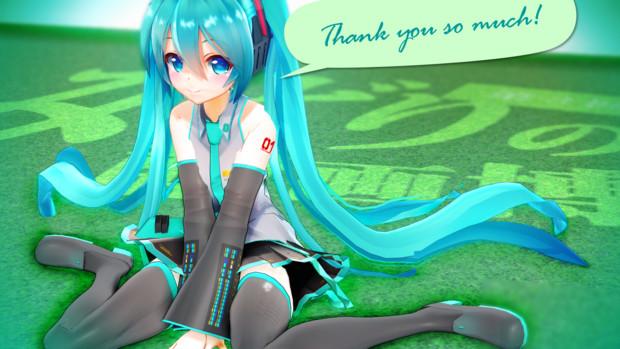 【第3回みどりの静画博】Thank you so much!