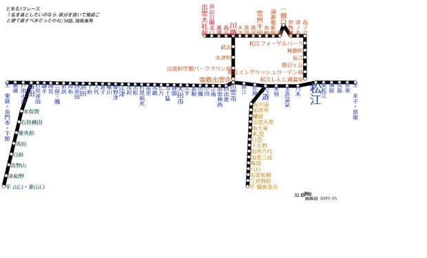 島根県路線図 2019 05 とある電撃姫 さんのイラスト ニコニコ静画