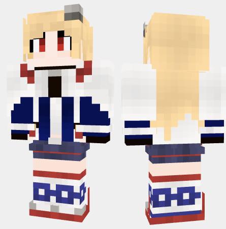 クリーブランド アズールレーン Minecraft Skin