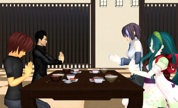 夕食:交流会①