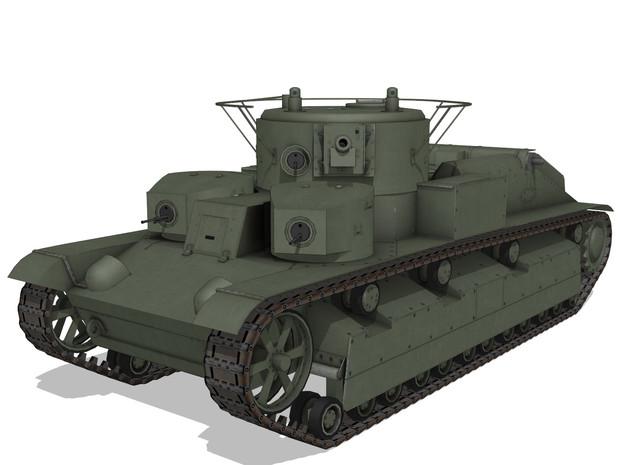 【MMDモデル配布】 T-28