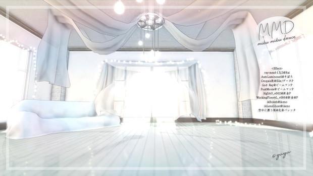【配布】カーテンのある部屋Vr04