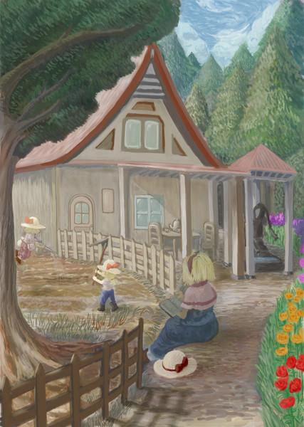 魔法の森の人形屋