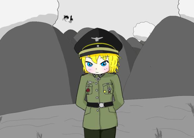 ドイツ軍の将校になれたICG姉貴