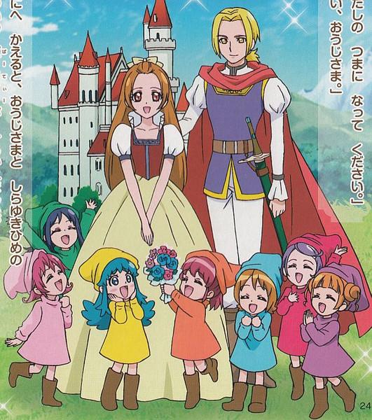 ZOとV3とRXとディケイドとWと555とカブトがつぼみ姫と亜久里姫を救出したのだ!!!!!!!