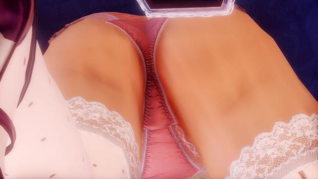 八雲紫のスカートの中のパンツ
