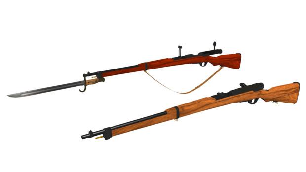 伍長式三八式歩兵銃 ver1.00配布