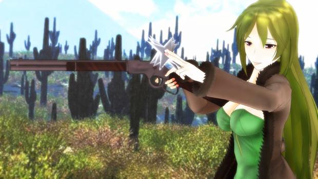 【第3期MMD銃聖戦】銃聖レバーアクション玲霞さん・地