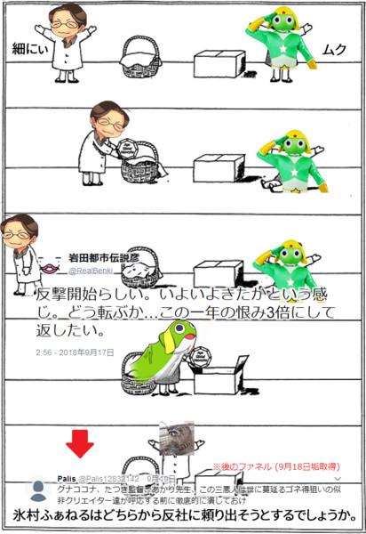 ムクと細にぃ(けものフレンズ2で学べる心の理論問題)