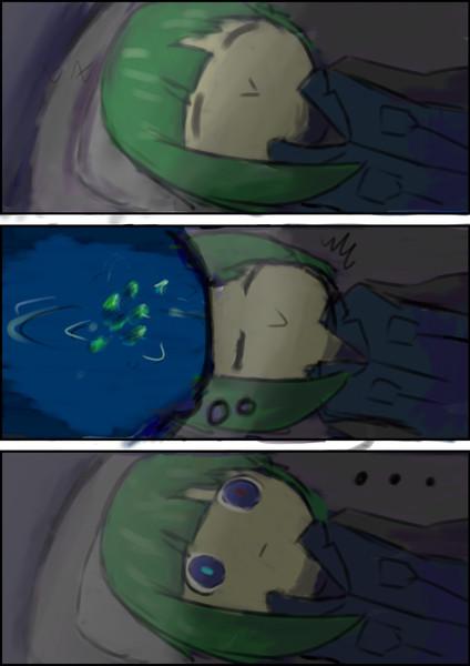 夢を見た3コマ