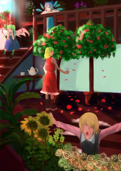 幻想郷のお花屋さん