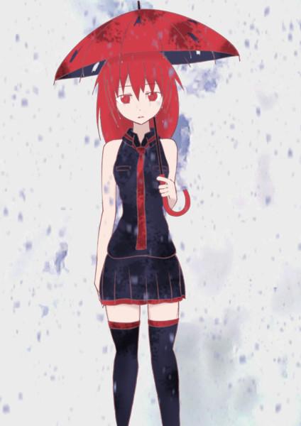 傘さすテトさん