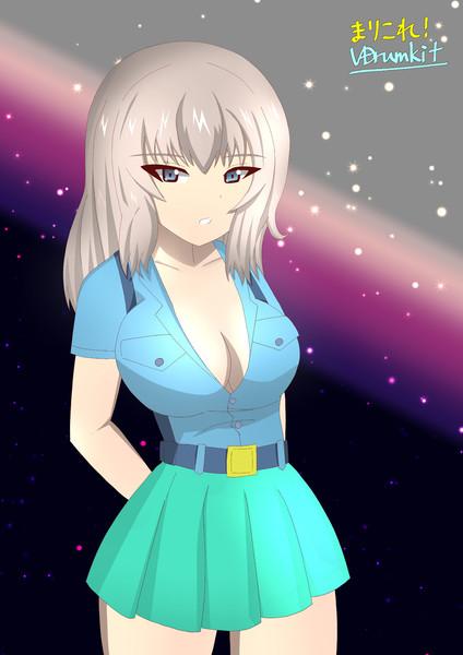 青師団エリカさん