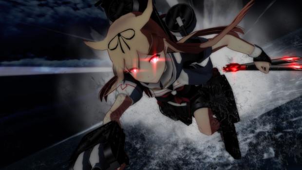 【MMD艦これ】夕立、突撃するっぽい!