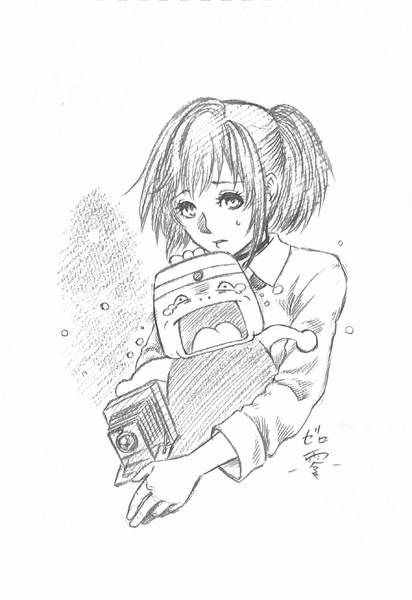 いい大人達「零」生放送に投稿したイラスト(アナ